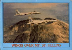 F-15S And Mt. St. Helens