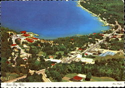 Village Of Sister Bay Aerial View