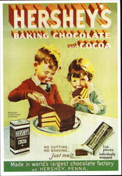 Hershey's Baking Chocolate And Cocoa
