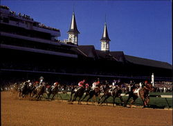 Kentucky Derby, Churchill Downs Postcard