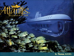 Attantis™ Submarine Postcard