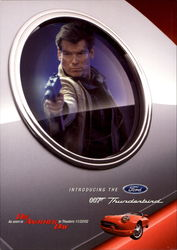 Ford 007 Thunderbird Pierce Brosnan james Bond