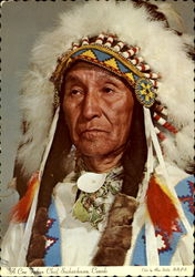 A Cree Indian Chief