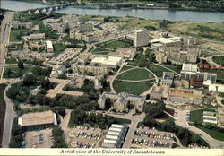 Aerial View Of The University Of Saskatchewan