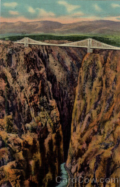 Royal Gorge and World's Highest Suspension Bridge Colorado