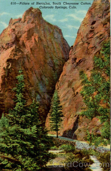 Pillars of hercules south cheyenne canon colorado springs co for T shirt printing in colorado springs