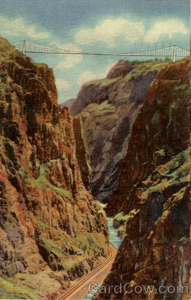 The Royal Gorge and the World's Highest Suspension Bridge Colorado