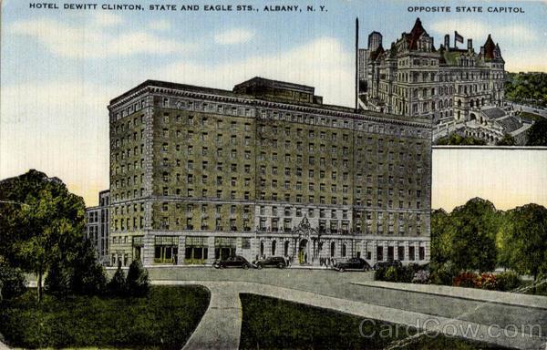 Dewitt Clinton Hotel Albany Ny