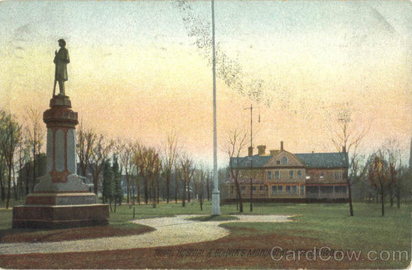 Thrall Hospital and Soldiers Monument Middletown New York