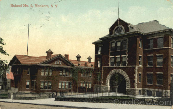 School No 6 Yonkers New York