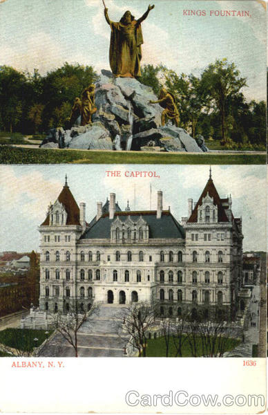 Kings Fountain The Capitol Albany New York