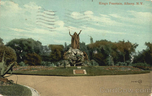 Kings Fountain Albany New York