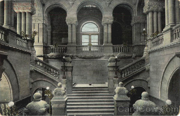 Staircase Capitol Building Albany New York
