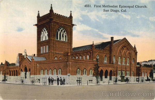 First Methodist Episcopal Church San Diego California