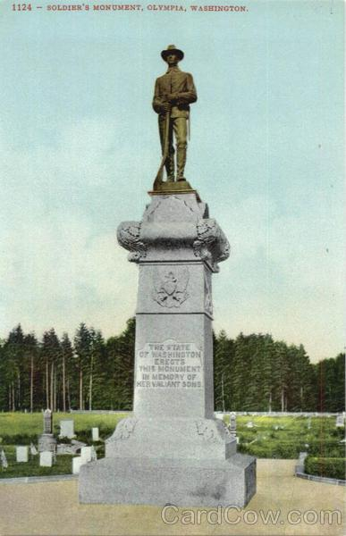 Soldier's Monument Olympia Washington