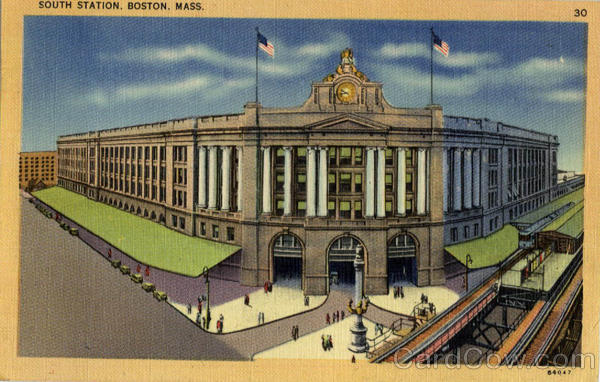 South Station Boston Massachusetts