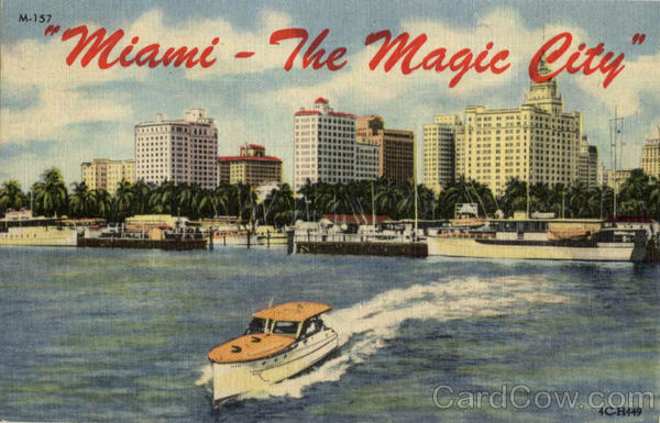 Miami - The Magic City Florida