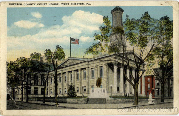 Chester County Court House West Chester Pennsylvania