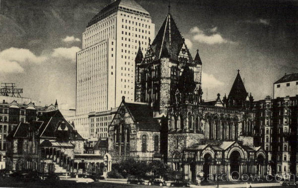Trinity Church Boston Massachusetts