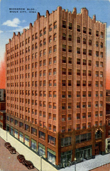 Badgerow Building Sioux City Iowa