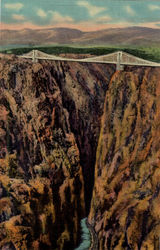 Royal Gorge and World's Highest Suspension Bridge