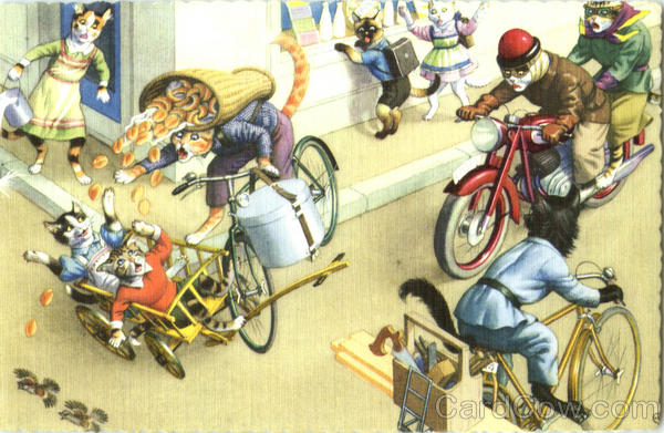 Cycle Accident #4705 Alfred Mainzer (Eugen Hurtong)