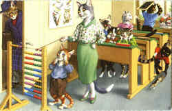 Cats in the Classroom #4914