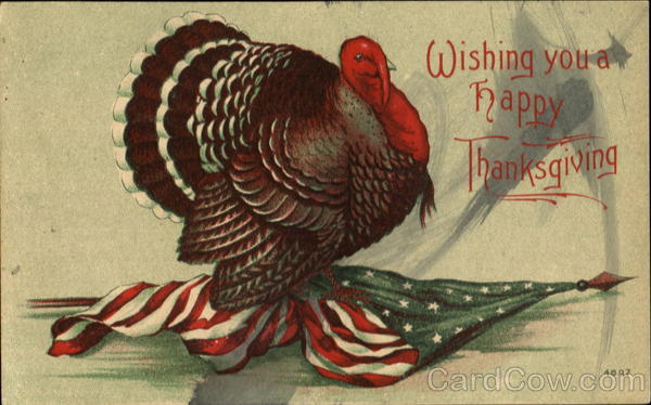 Wishing You A Happy Thanksgiving Patriotic