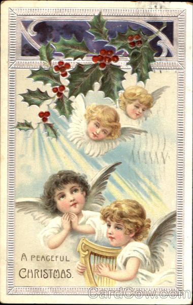A Peaceful Christmas Angels