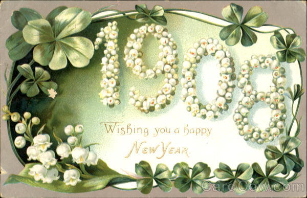 1908 The Happy New Year, Wishing You a Happy New Year