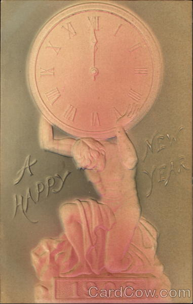 A Happy New Year 1908 New Year's