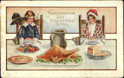 Thanksgiving Day Greetings To You