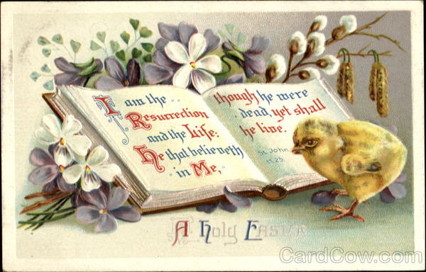 A Holy Easter With Chicks