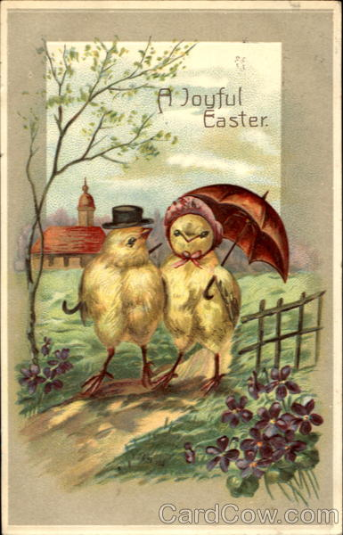 A Joyful Easter With Chicks