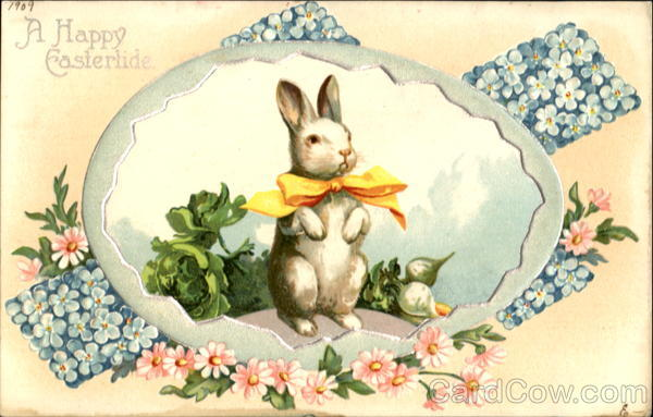 A Happy Eastertide With Bunnies