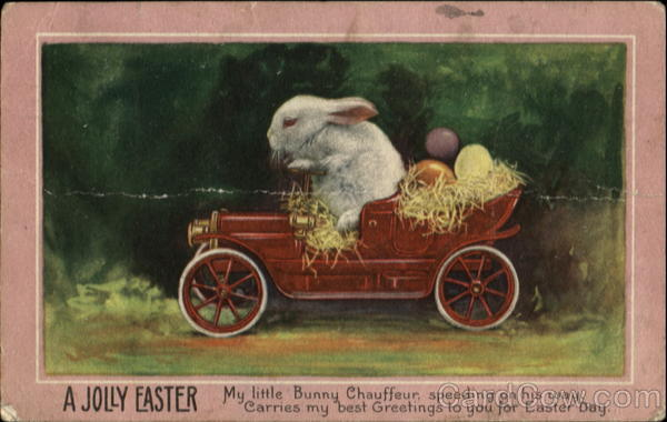 A Jolly Easter With Bunnies