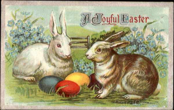 A Joyful Easter With Bunnies