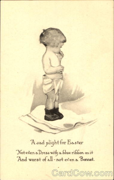 A Sad Plight For Easter With Children