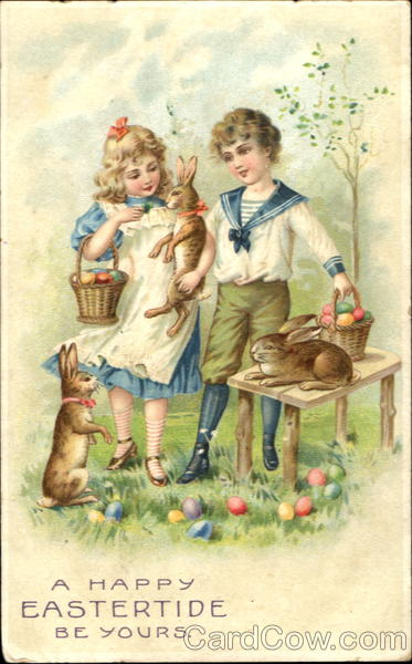A Happy Eastertide Be Yours With Children