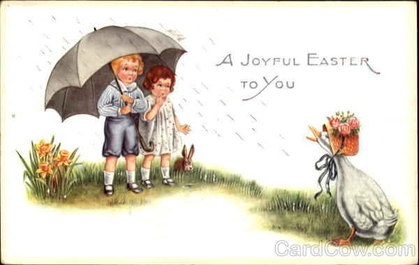 A Joyful Easter To You With Children