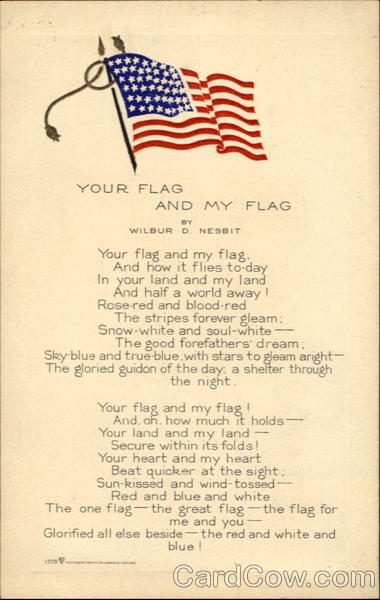 Your Flag And My Flag Patriotic