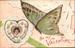 Be My Valentine Butterfly