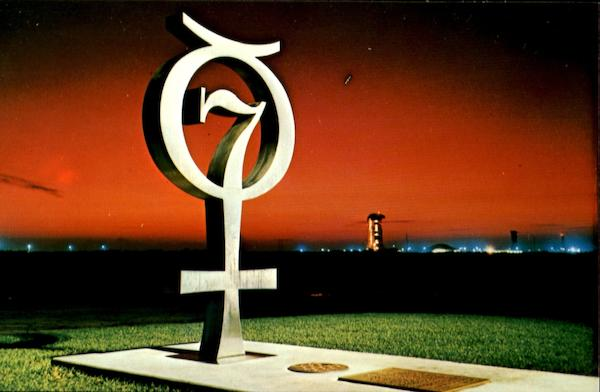 John F. Kennedy Space Center N. A. S. A Postcard