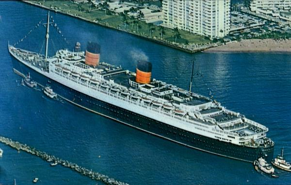 the RMS Queen Elizabeth Boats, Ships