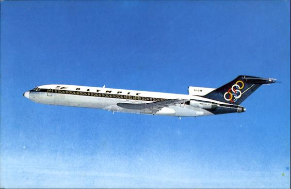 Olympic Airways Boeing 727-200 Aircraft