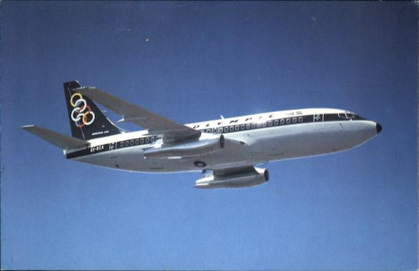 Olympic Airways Boeing 737-200 Aircraft