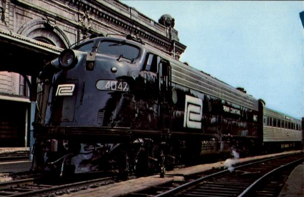 Penn Central 4047 Trains, Railroad