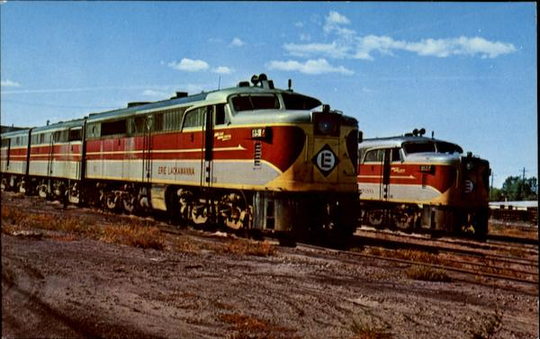 Erie Lackawanna 851 Trains, Railroad