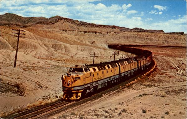 Denver & Rio Grande Western 4003 Trains, Railroad