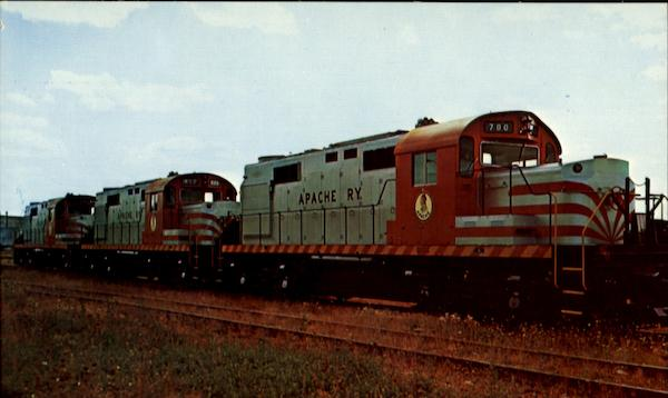 Apache 700 Trains, Railroad